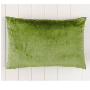 Indoor Cushion Feather Insert Olive Green