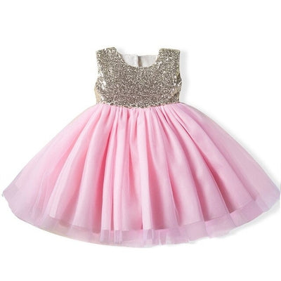 Sequin Flower Girl Dress Party