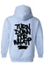 Men's/Unisex Zip-Up Hoodie Funny Turn Down For What?
