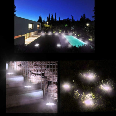 4Pack Solar Garden Lights