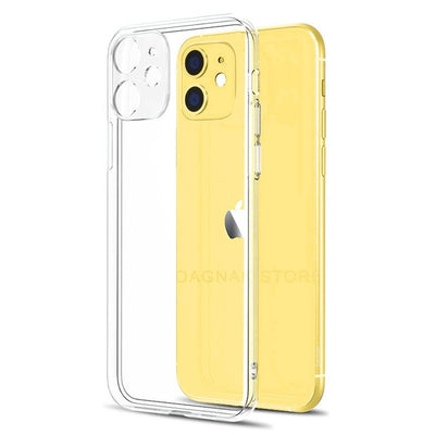 Lens Protection Clear Phone Case