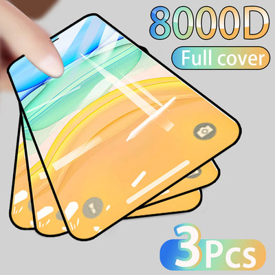 3PCS Full Cover Protective Glass