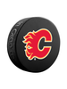 NHL Calgary Flames Classic Souvenir Collector Hockey Puck