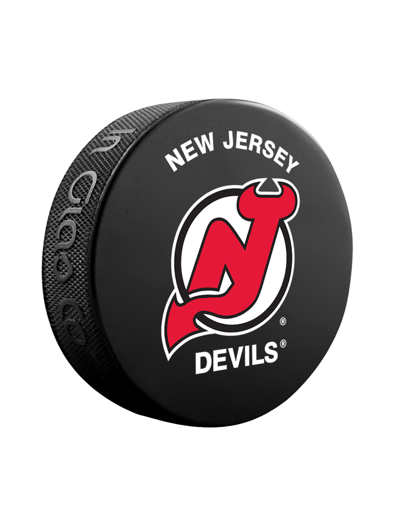 NHL New Jersey Devils Classic Souvenir Collector Hockey Puck