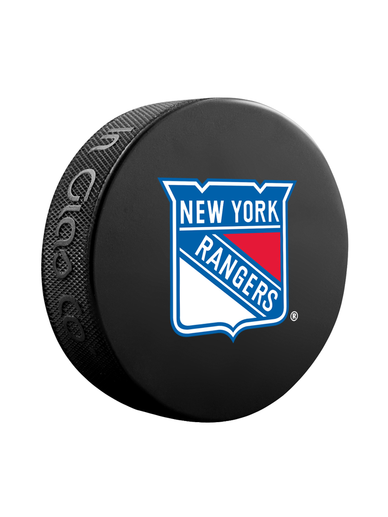 NHL New York Rangers Classic Souvenir Collector Hockey Puck