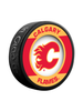 NHL Calgary Flames Retro Souvenir Collector Hockey Puck