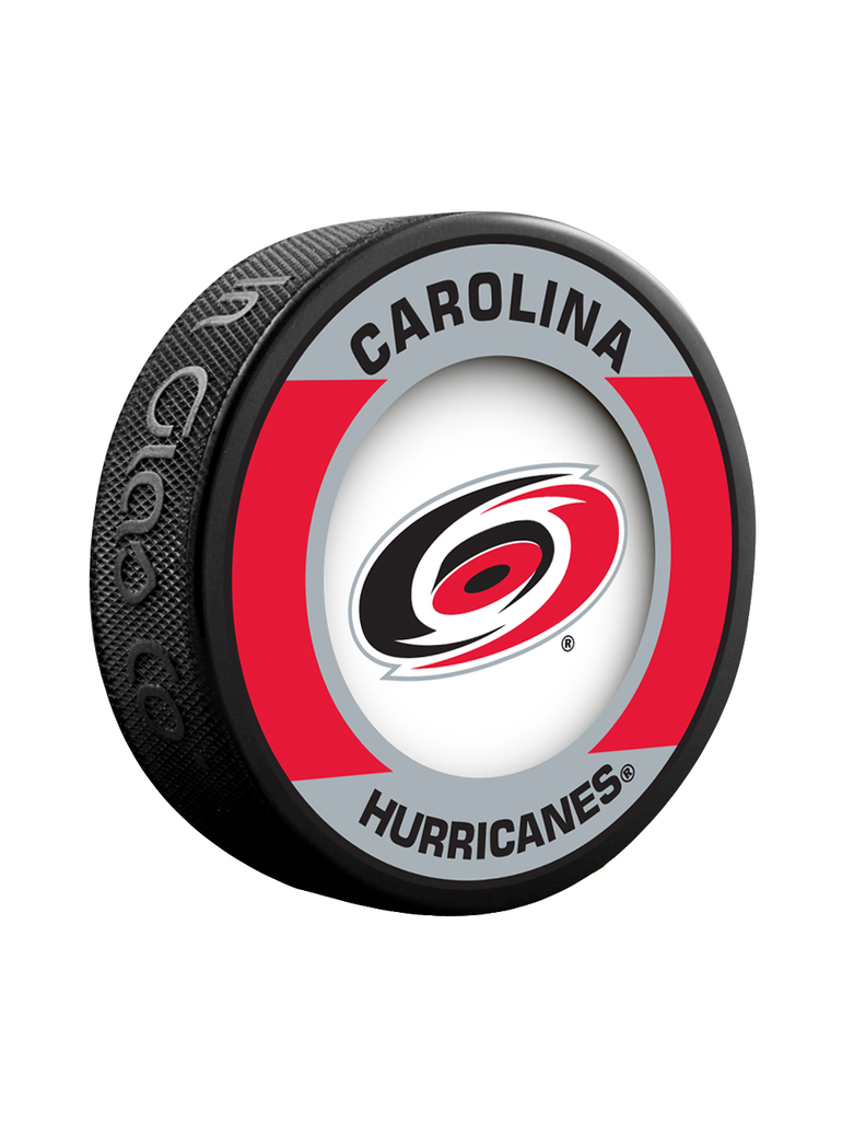 NHL Carolina Hurricanes Retro Souvenir Collector Hockey Puck