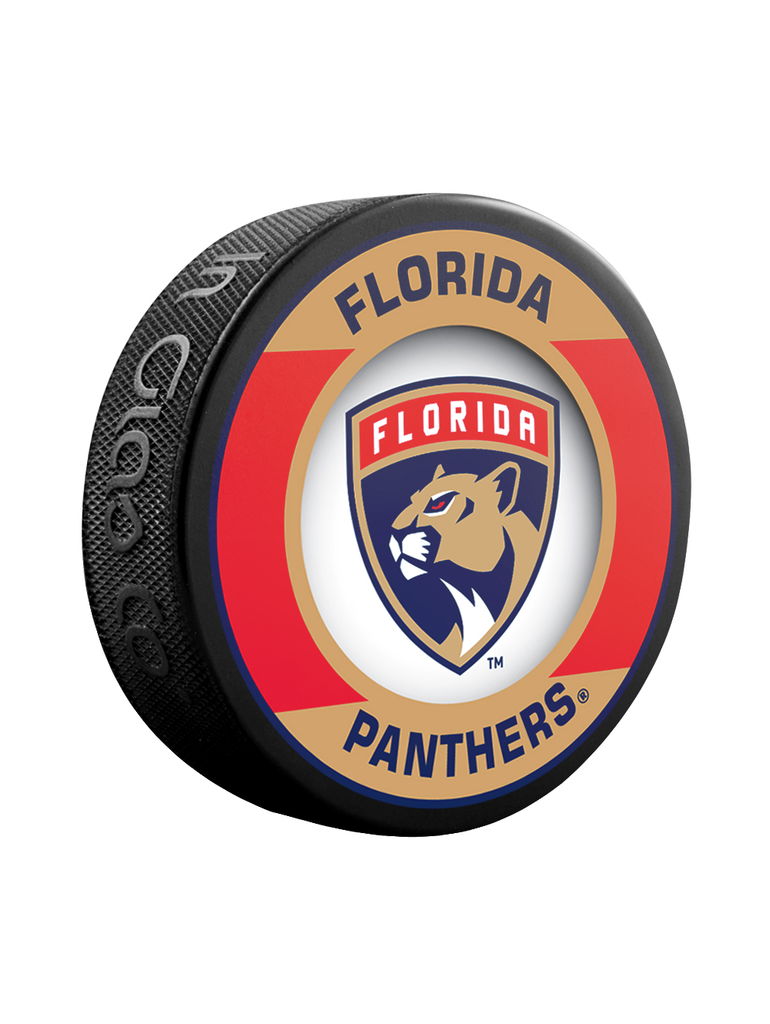 NHL Florida Panthers Retro Souvenir Collector Hockey Puck