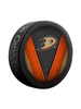 NHL Anaheim Ducks Stitch Souvenir Collector Hockey Puck