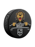 NHL Los Angeles Kings Mascot Souvenir Hockey Puck