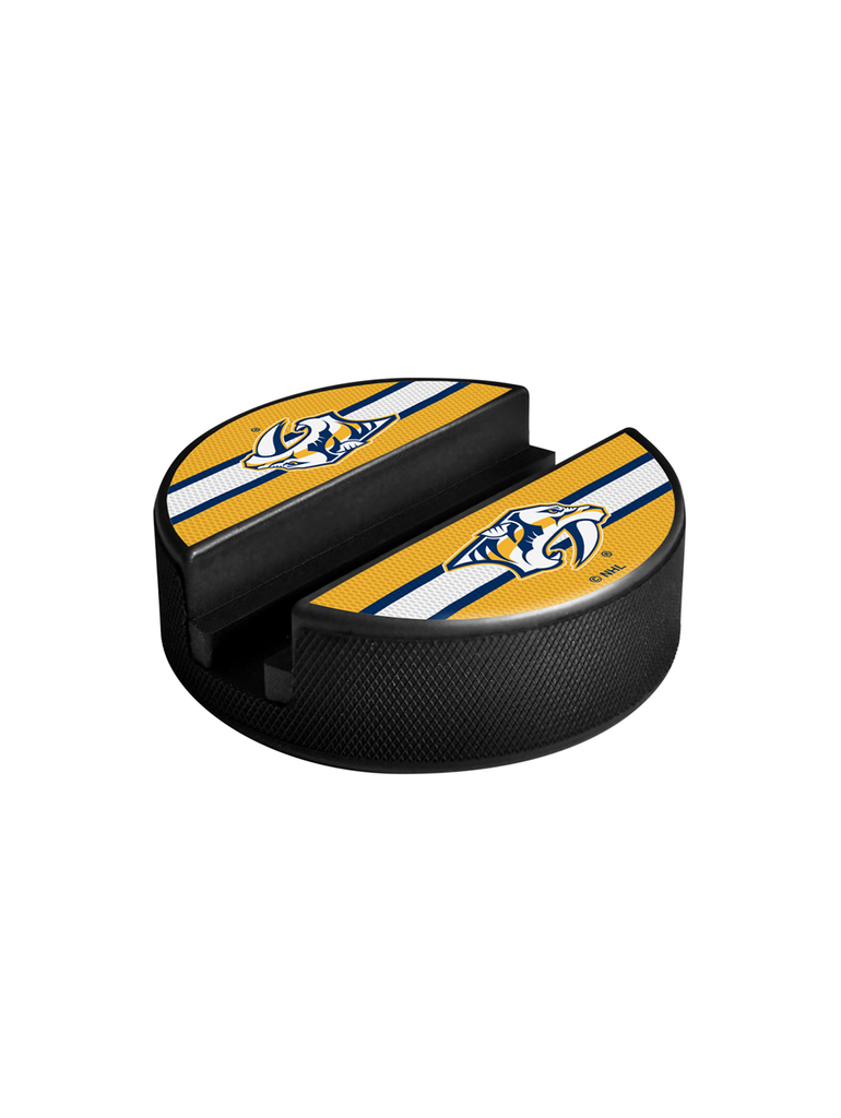 NHL Nashville Predators Hockey Puck Media Device Holder