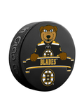 NHL Boston Bruins Mascot Souvenir Hockey Puck