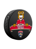 NHL Florida Panthers Mascot Souvenir Hockey Puck