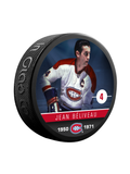 NHLAA Alumni Jean Beliveau Montreal Canadiens Souvenir Collector Hockey Puck