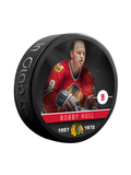 NHLAA Alumni Bobby Hull Chicago Blackhawks Souvenir Collector Hockey Puck