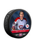 NHLAA Alumni Guy Lafleur Montreal Canadiens Souvenir Collector Hockey Puck