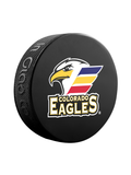 <transcy>Rondelle de hockey souvenir classique AHL Colorado Eagles</transcy>