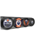 NHL Edmonton Oilers Souvenir Hockey Puck Collector's 4-Pack