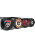 NHL Florida Panthers Souvenir Hockey Puck Collector's 4-Pack