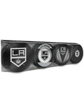 <transcy>Lot de 4 rondelles de hockey de collection NHL Los Angeles Kings Souvenir</transcy>