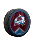 NHL Colorado Avalanche Reverse Retro Jersey Souvenir Collector Hockey Puck
