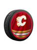 NHL Calgary Flames Reverse Retro Jersey Souvenir Collector Hockey Puck