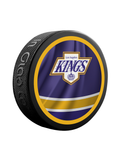 NHL Los Angeles Kings Reverse Retro Jersey Souvenir Collector Hockey Puck