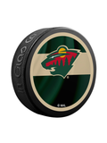 NHL Minnesota Wild Reverse Retro Jersey Souvenir Collector Hockey Puck