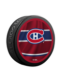 NHL Montreal Canadiens Reverse Retro Jersey Souvenir Collector Hockey Puck