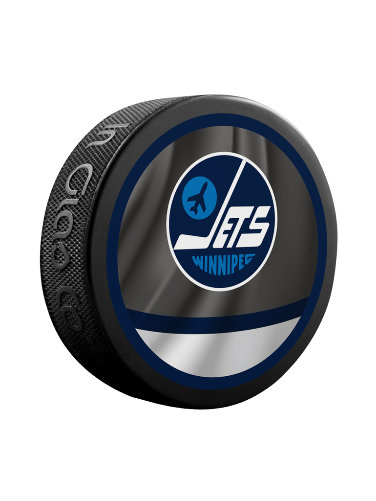 NHL Winnipeg Jets Reverse Retro Jersey Souvenir Collector Hockey Puck