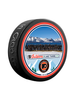 NHL Lake Tahoe Outdoor Event February 21st 2021. Philadelphia Flyers Team Photo Official Souvenir Puck In Cube