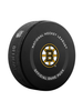 NHL Boston Bruins 2021 Official Game Hockey Puck In Cube - New Fan Blue