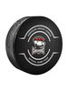 AHL Charlotte Checkers Official Game Hockey Puck In Cube