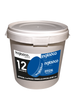 Bucket Of 12 Blue Junior 4oz Hockey Pucks