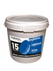 Bucket Of 15 Blue Junior 4oz Hockey Pucks