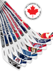 NHL 2021 Season North Division Mini Stick Set