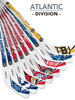 NHL Atlantic Division Player 8-Piece Mini Stick Set