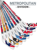 NHL Metropolitan Division Player 8-Piece Mini Stick Set