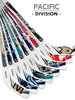 NHL Pacific Division Player 8-Piece Mini Stick Set
