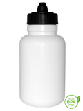 1000ml Fatboy Water Bottle With Black Membrane-Top Lid