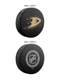 NHL Anaheim Ducks Ultimate Fan 3-Pack. Includes: 1 NHL Official Classic Souvenir Hockey Puck / 4 Coasters / 1 Media Device Holder