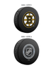 NHL Boston Bruins Ultimate Fan 3-Pack. Includes: 1 NHL Official Classic Souvenir Hockey Puck / 4 Coasters / 1 Media Device Holder