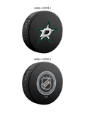 NHL Dallas Stars Ultimate Fan 3-Pack. Includes: 1 NHL Official Classic Souvenir Hockey Puck / 4 Coasters / 1 Media Device Holder