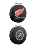 NHL Detroit Red Wings Ultimate Fan 3-Pack. Includes: 1 NHL Official Classic Souvenir Hockey Puck / 4 Coasters / 1 Media Device Holder