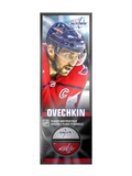 <transcy>NHLPA Alex Ovechkin # 8 Ensemble de plaque décorative et porte-rondelle de hockey Washington Capitals</transcy>