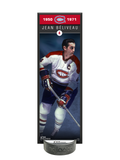 NHLAA Alumni Jean Beliveau Montreal Canadiens Deco Plaque And Hockey Puck Holder Set