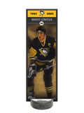 <transcy>NHLAA Alumni Mario Lemieux Pittsburgh Penguins Déco Plaque Et Support De Rondelle De Hockey</transcy>