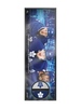 <transcy>AJLNH Toronto Maple Leafs Trio Deco Plaque Et Porte-Rondelle De Hockey</transcy>
