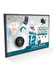 NHLPA Patrick Marleau #12 San Jose Sharks 1768 Games Played Most In The NHL Collector Plaque With Official NHL Game Puck