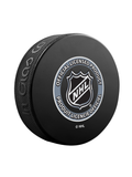 NHL Hockey Puck Wall Plaque. All 32 NHL Team Classic Souvenir Collector Pucks + 3 NHL Shield Hockey Pucks